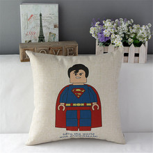 Lego Hero Pillow