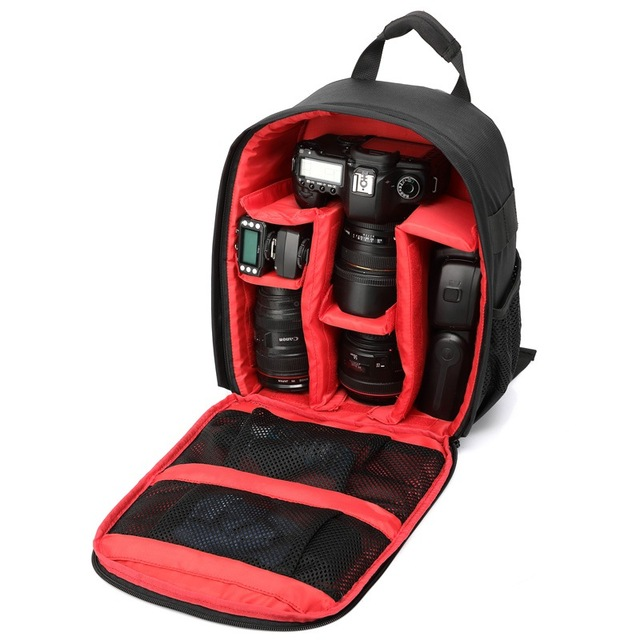 3 Colors Camera Backpack Gifts Camera Bags Gifts Camera Backpack Bag Waterproof DSLR Case for Canon A57