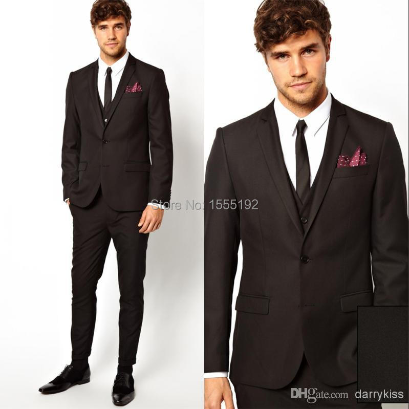 Aliexpress.com : Buy 2014 Two Button Custom Made Groom Tuxedos ...
