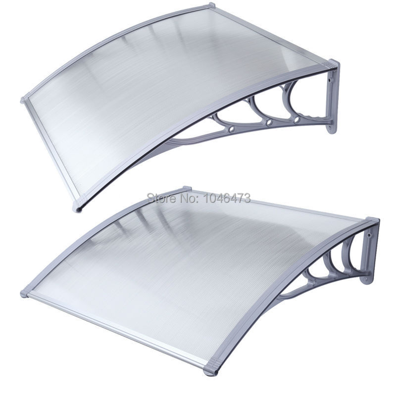 Ship from UK ! 1mx2m DIY Outdoor Front Door sunshade Patio polycarbonate Window Awning gazebo canopy-in Shade from Home u0026 Garden on Aliexpress.com   Alibaba ...  sc 1 st  AliExpress.com & Ship from UK ! 1mx2m DIY Outdoor Front Door sunshade Patio ...