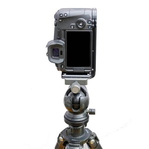Image 5 - Quick Release L Plate Holder Hand Grip Tripod Bracket for Canon EOS R Camera for Benro Arca Swiss Tripod Head