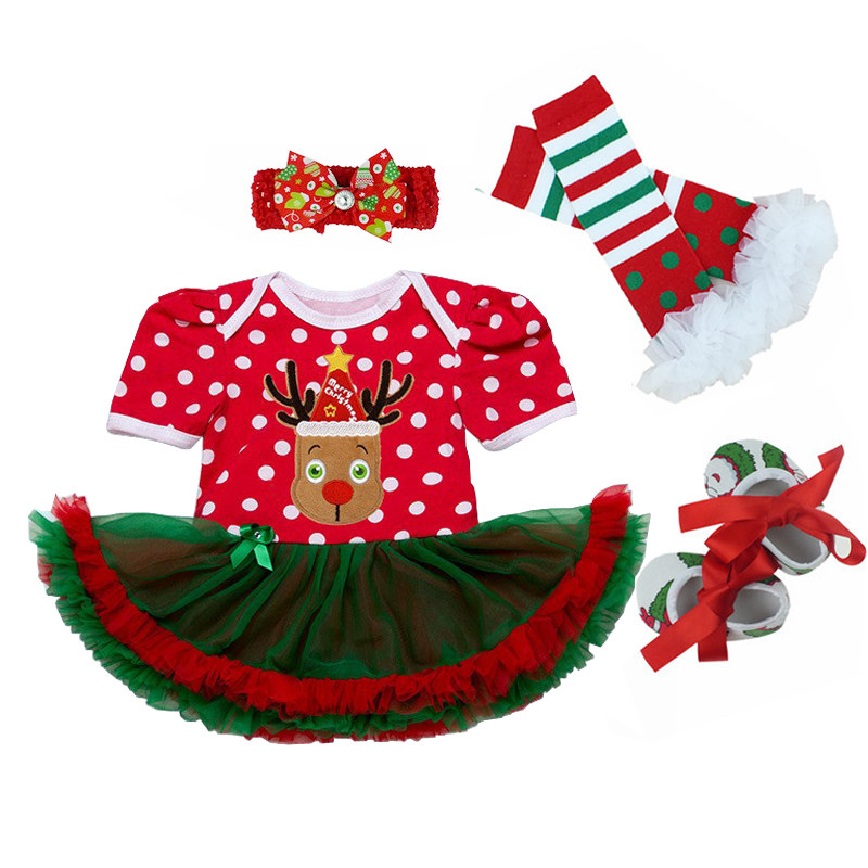 Summer Toddler Baby Girl Dress Christmas Infant Gowns for Girls 0-24M Christmas Party Clothes Vestido Infantil Halloween sets