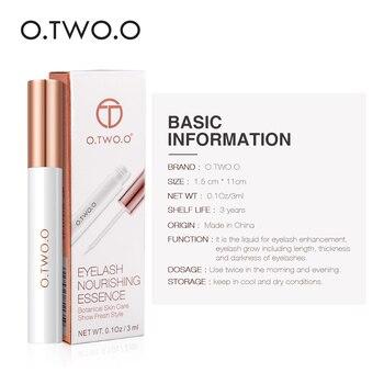 O.TWO.O Eyelash Growth Treatments Moisturizing Eyelash Nourishing Essence For Eyelashes Enhancer Lengthening Thicker 3ml 1