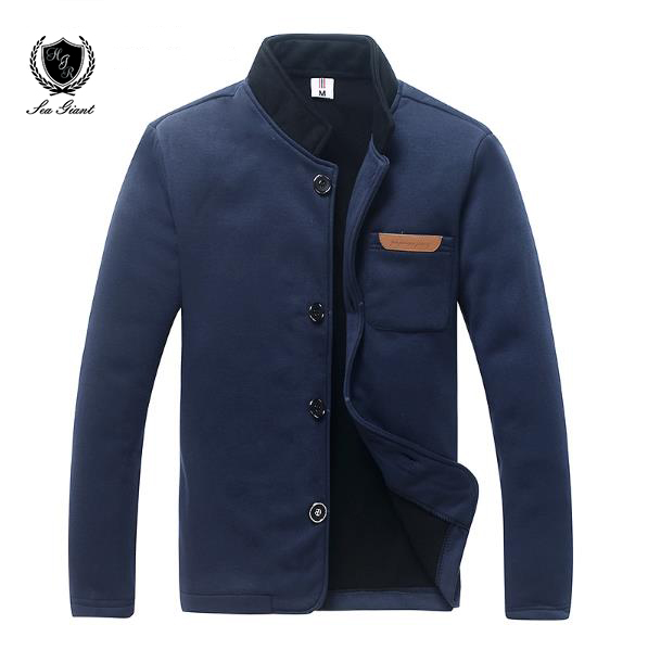 sea giant Sweatshirts For Men Male Winter Coat Jacket