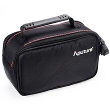 Aputure extérieur nécessaire étui de protection housse de protection utilisation pour LED vidéo lumière AL H198 série, juste le sac