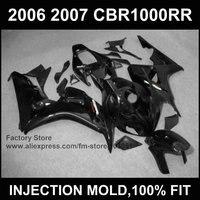 Custom Motorcycle 100 Injection Fairings Kits For HONDA 06 07 CBR1000RR 2006 2007 CBR 1000RR Fireblade