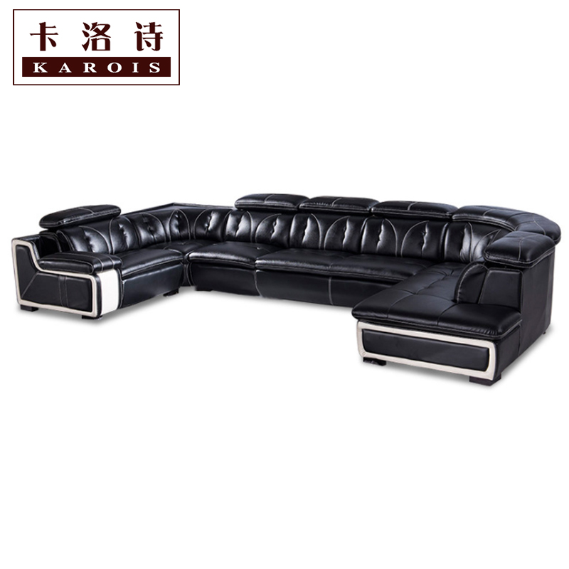 Whole Sale Big Lots Of Sofa Set In Leather Living Room Furniture Corner Lounge Chair For Home Use