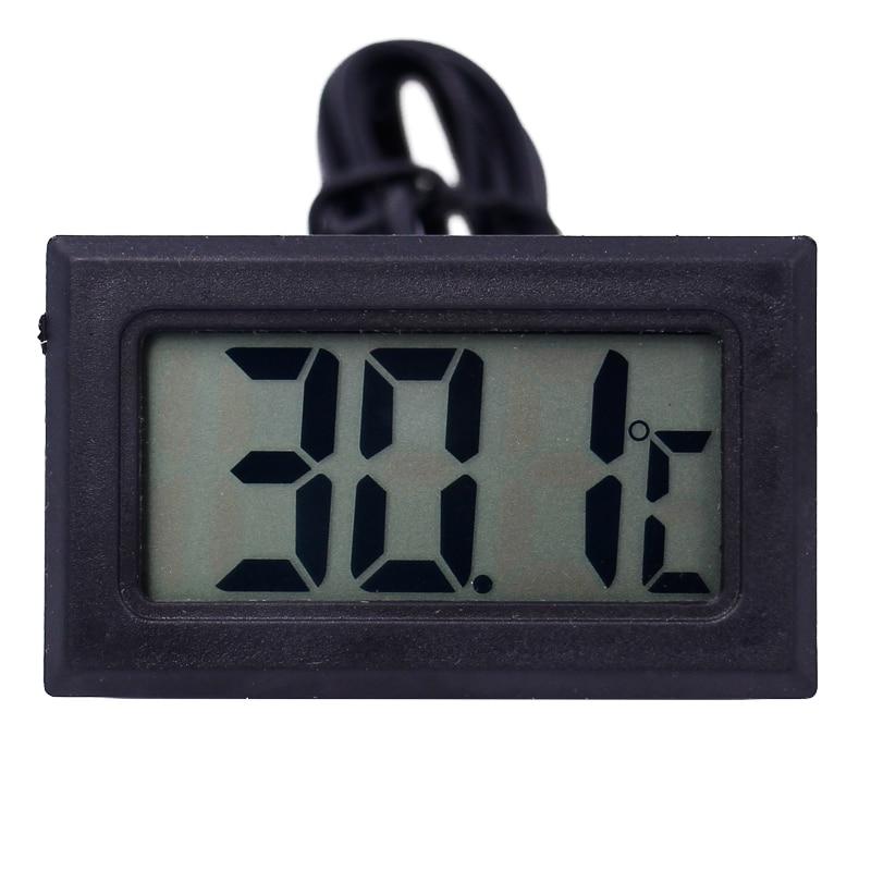 Digitální LCD sonda s mrazničkou, teploměr, teploměr, termograf - Měřicí přístroje - Fotografie 5