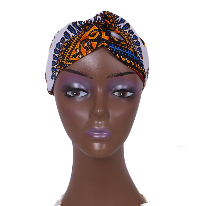 Wholesale Fashion African Headband For Women Ankara Headband Decorations Wrap Tie Scarf Africa Hair Accessories BRW WYB362
