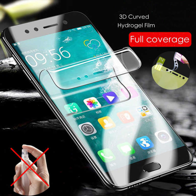 9D Soft Hydrogel Film Screen Protector Film For Huawei P30 P20 Pro Mate 20 Pro Lite Honor 8X Max 10 9 Full Cover Protective Film