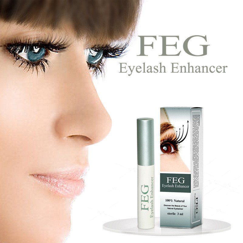Maquiagem FEG O Crescimento Dos Cílios Soro Potenciador lash eye Lashes Mascara Tratamentos de Soro Enhancer Eye Lash FEG O Crescimento Dos Cílios Líquido