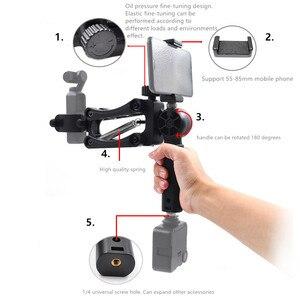 Image 2 - Câmera de bolso handheld suporte de absorção de choque suporte de vídeo estabilizador de montagem clipe de telefone para fimi palm câmera cardan acessórios