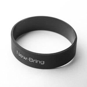 Newbring 2 قطع مرونة المطاط الفرقة ل حامل بطاقة الائتمان