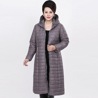 Plus Size 6XL Women S Coats Parks 2017 New Winter Fashion Cotton Thick Women Long Jacket