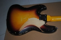 Vicers Top Quality Relic Handmade JAZZ Electric BASS Guitar