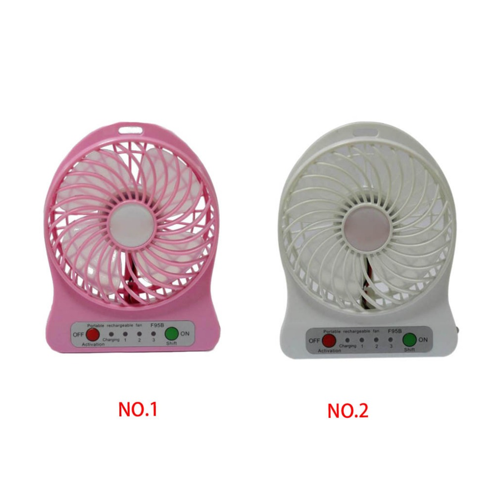 Color : White, Size : One Size Mini USB Table Desk Personal Fan Portable Handheld Mini Electric USB Desk Fan with Night Light for Home Camping Travel Metal Design Quiet Operation USB Cable Fan