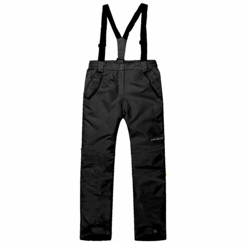 Nuevos niños niñas pantalones de esquí a prueba de viento Coldproof Snowboard pantalones adolescente invierno general de 4-13Years