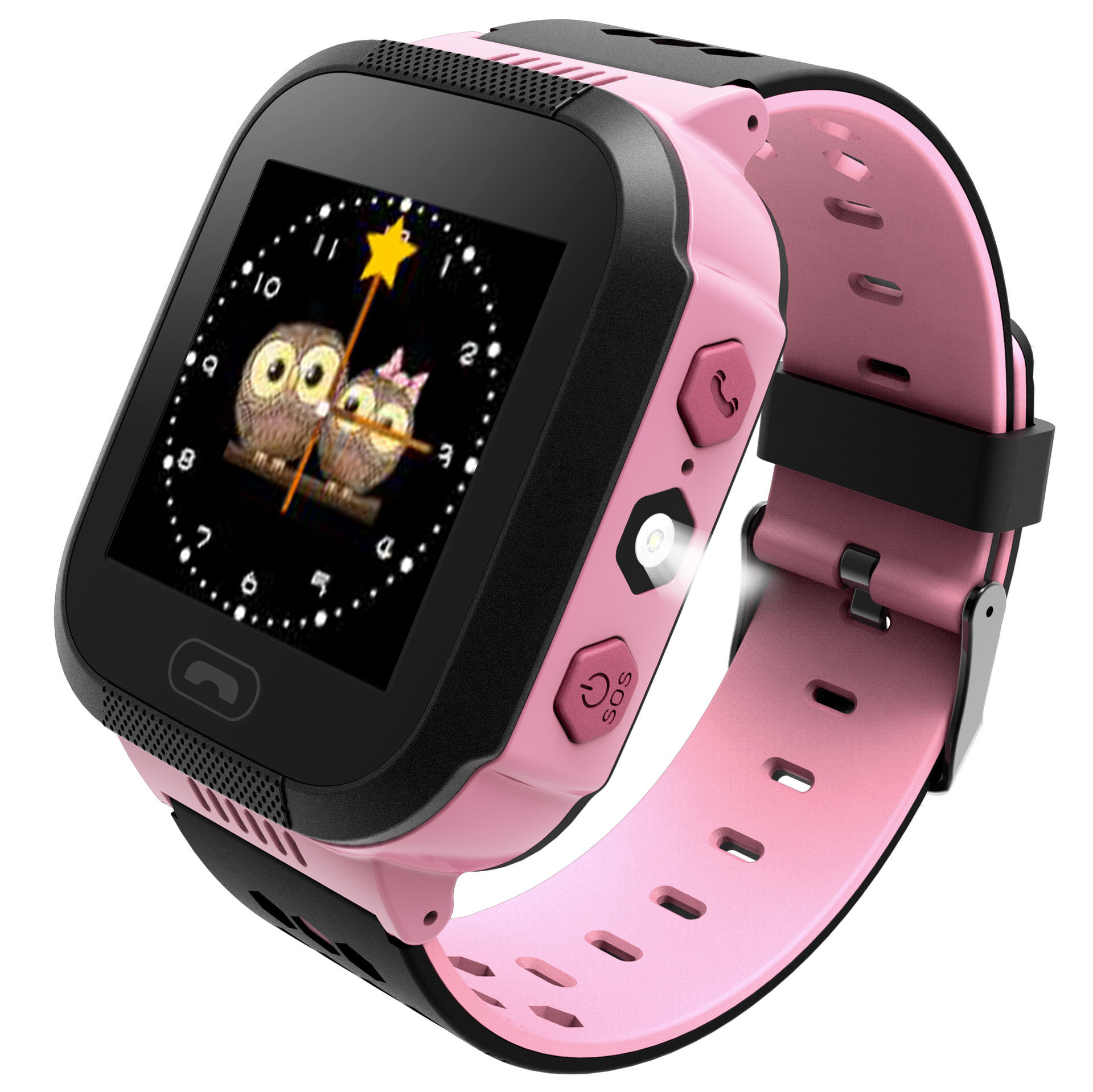 BANGWEI Kids Watch For Sim Card Children's Watch With Bluetooth HD Camera LBS Tracker SOS Call Security Warning Kid Smart Watch