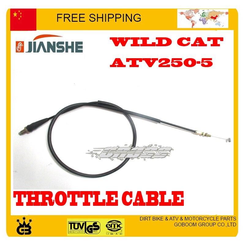 Jianshe Atv Atv250 Cable Del Acelerador M10 Tornillo Quad Accesorios Envío Gratis