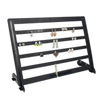 Black Color Acrylic Earring Display Jewelry Display Jewelry Organizer 240Holes Earring Jewelry Display Rack Stand Holder