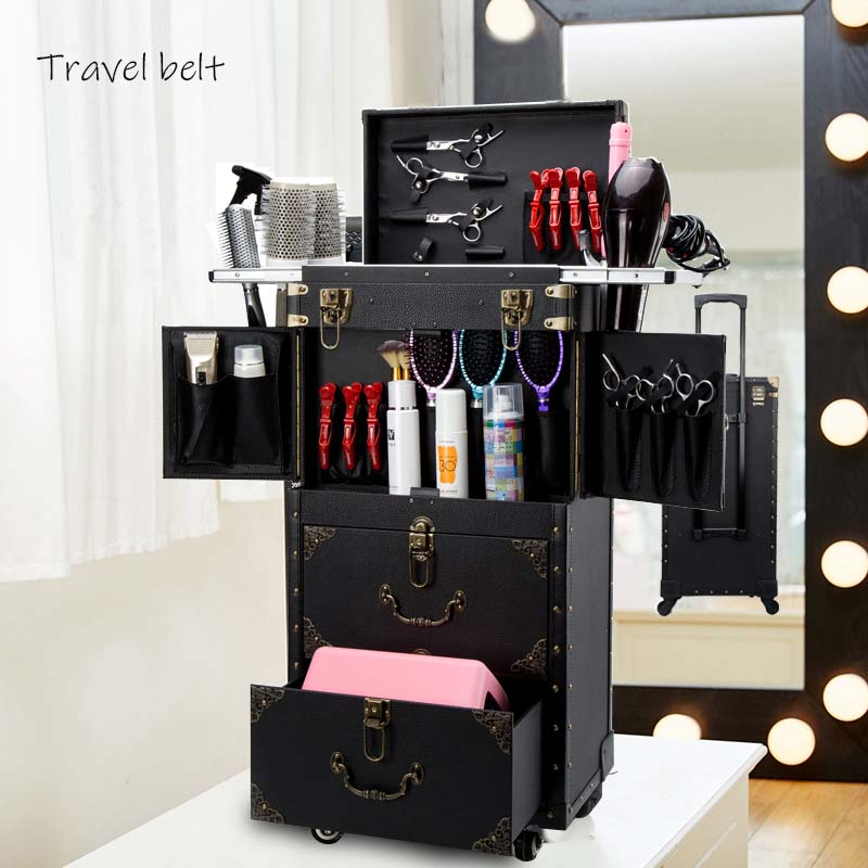 Travel Belt Luxury high-end Large volume Cosmetic case Multifunction Rolling Luggage Spinner brand  Suitcase WheelsTravel Belt Luxury high-end Large volume Cosmetic case Multifunction Rolling Luggage Spinner brand  Suitcase Wheels