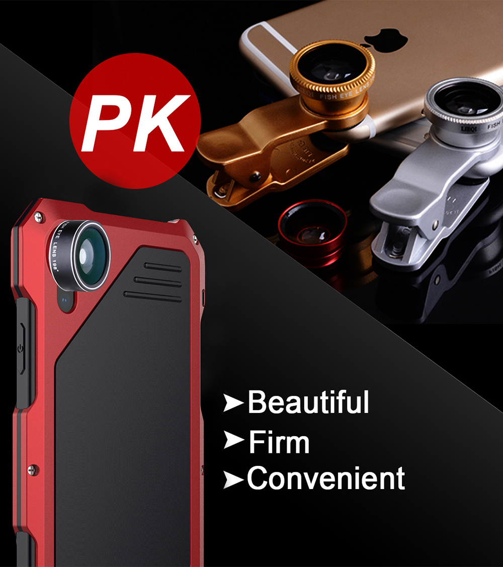 Ascromy For iPhone XS Max Lens Kit Case Fisheye Macro Wide Angle For iPhone XS Max XSmax 198 degree Fish eye Camera Accessories (5)