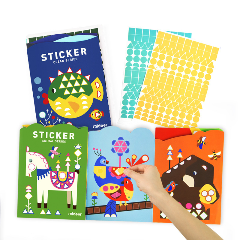 Mosaic Sticker Cartoon Animal Toys