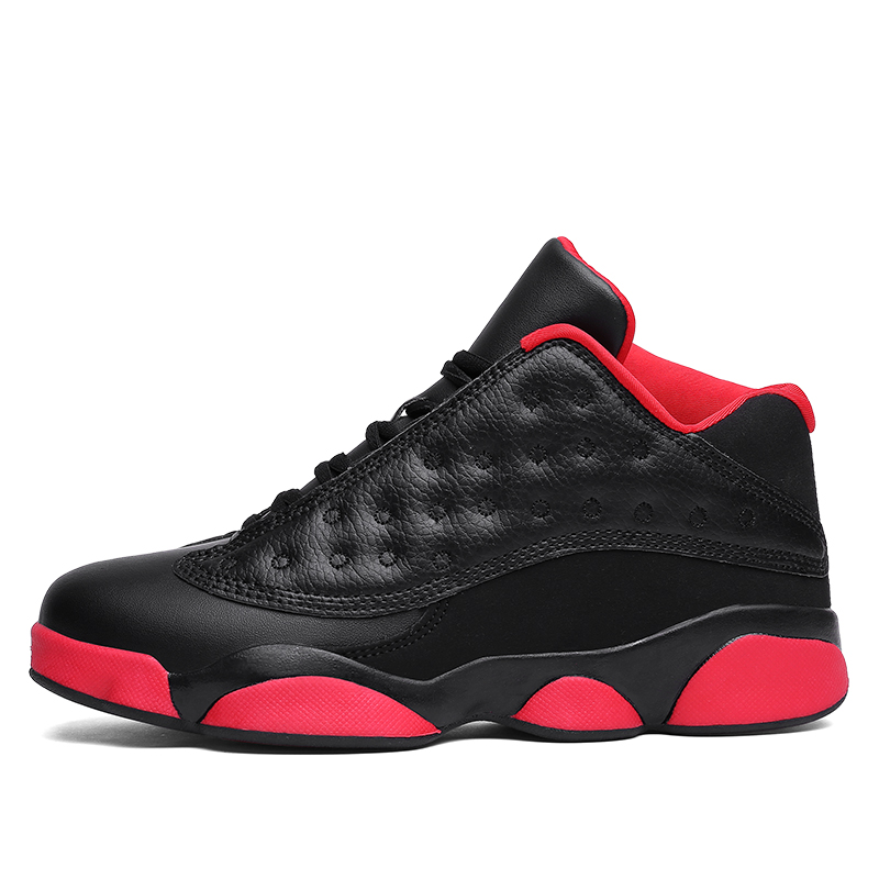 Brand Basketball Shoes Men High-top Sports Air Cushion Jordan New Hombre Athletic Mens S ...
