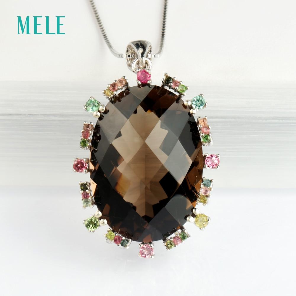MELE Φυσικό καπνιστό τετράγωνο - Κοσμήματα - Φωτογραφία 5