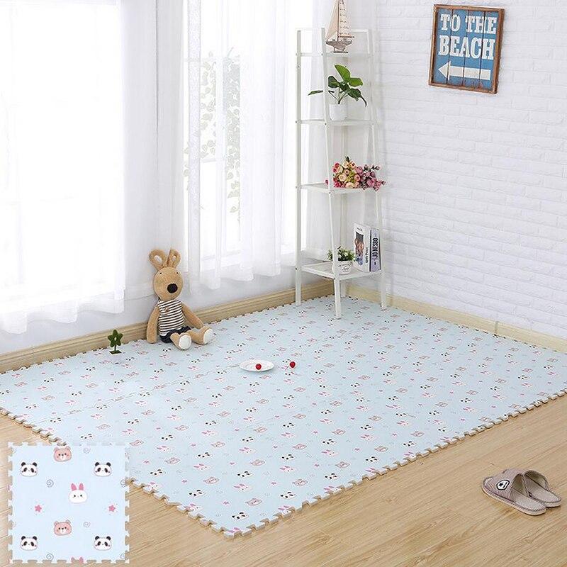 Éléphant bébé Puzzle tapis bébé tapis de jeu EVA mousse éducatif chambre Gym jeu doux plancher ramper verrouillage jouets 30 cm 60 cm - 4