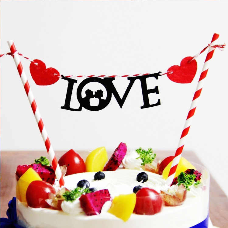 Sensational Ynaayu 1Pcs Happy Birthday Cake Topper Love Cake Topper Kitty Funny Birthday Cards Online Inifofree Goldxyz
