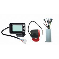 Controlador de Freio Ebike Display LCD 24V 250W Controlador Do Motor Brushless de Scooter Elétrico De Fibra de Carbono Acessório Bicicleta Elétrica