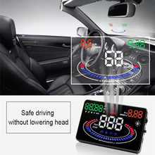 Automotive electronice digital GPS speedprojector Automotive hud head up show  Throttle Angle RPM Water temperature For any automotive and automobile