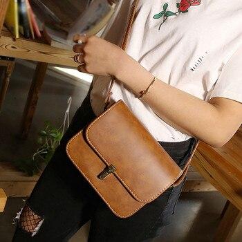 Women Small Square Bag Ladies Car Line Fashion Handbag Retro Shoulder Bags Messenger bag Mobile Phone Packet #YJ