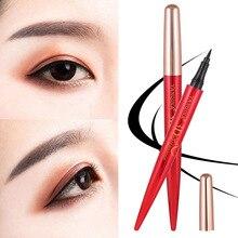 все цены на YANQINA New 36H Liquid Eyeliner Makeup Black  Long-lasting Waterproof Smooth Beauty Comestics онлайн
