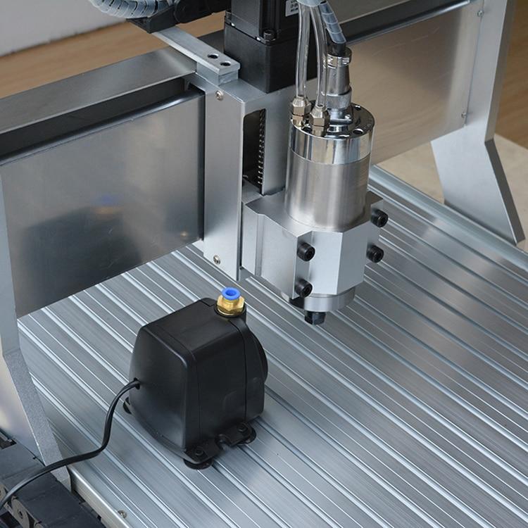 Mini 6040 CNC ruutergraveerija 4. telje A-teljega, graveeringuga - Puidutöötlemisseadmed - Foto 3