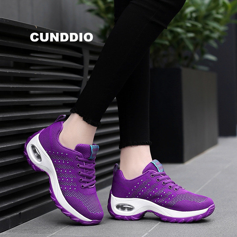 shoes woman Summer sneakers women Brand fashion Air damping Flat Casual shoes Breathable mesh light leisure shoes tenis feminino breathable women hemp summer flat shoes eu 35 40 new arrival fashion outdoor style light