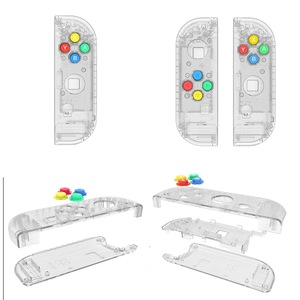 Image 4 - Nintendo Switch Joy Con Controller Handle Replacement Shell for 4 Color Keys Left and Right Pairs ABXY Directions Keys Buttons