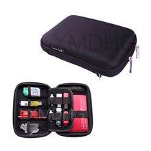 Купить с кэшбэком Travel Portable Organizer Case USB Data Cable Earphone Wire Pen Power Bank Storage Bag Digital Gadget Devices Travel Bags 2018