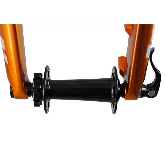 ICAN vtt vélo alliage à travers laxe à dégagement rapide en aluminium brochettes de montagne 135X15/142X12
