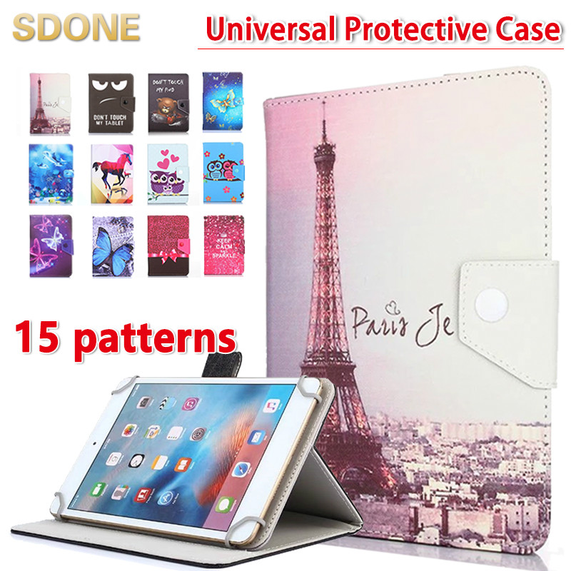 Active Universal Cartoon Case For Digma Plane 7.12/7.5/7.6/7.7/7.71/7.8/7.9/s7.0 3g 7 Inch Tablet Stand Protective Case Cover Computer & Office Gifts Tablets & E-books Case