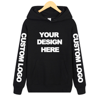 DIY man pullover hoodie Custom Boy long sleeve Personalized fleece hoody casual sweatershirts clothing Design your own hoodies