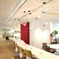 IKVVT винтажный светодиодный подвесной светильник s Современный Креативный акриловый подвесной светильник для ресторана гостиной бара кафе ...