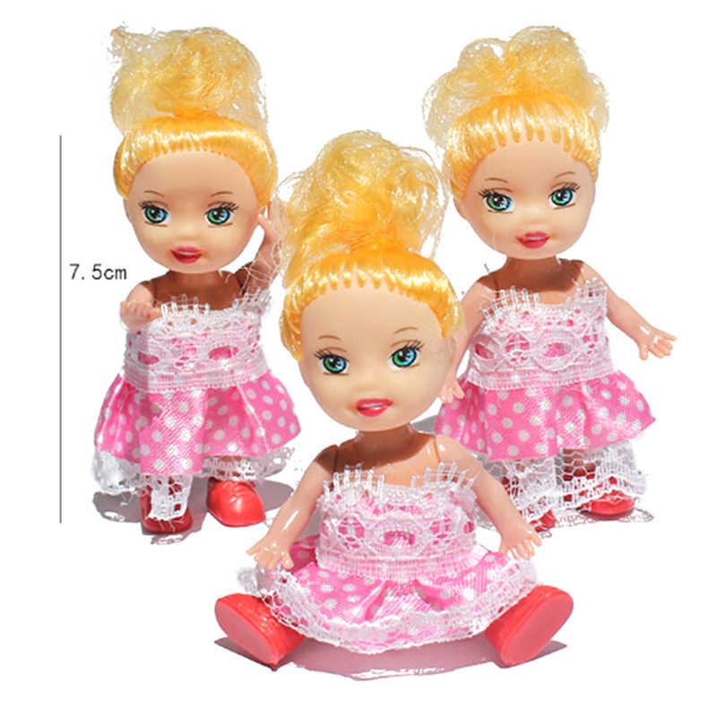 Модные Новинка; Лидер продаж 1 шт. маленькая Келли Кукла игрушка принцессы с рисунком куклы сестричка Келли куклы мини-игрушки для детский подарок на день рождения
