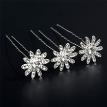 20pcs Butterfly Flowers Crystal Hair Clips Wedding Bridal Faux Pearl Hairpins Jewelry Accessories Crown Bowknot hairpin faux crystal wedding jewelry set
