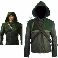 Arrow Oliver Queen Connor Hoodie Jacket Pullover Halloween Comic con Cosplay Costume Men Women Adults