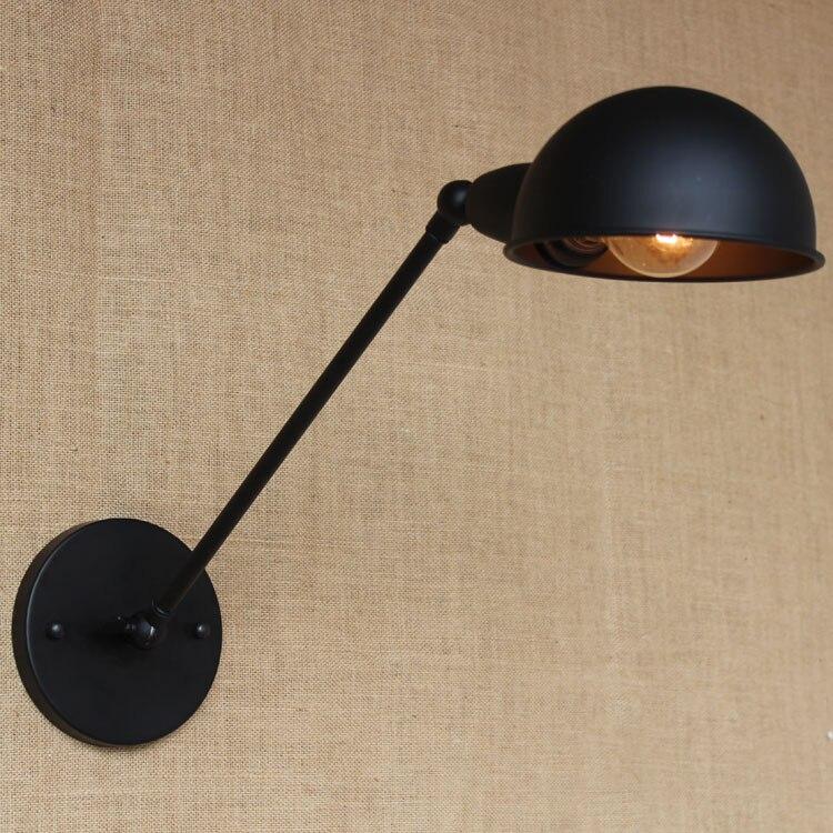 Винтаж стены Светодиодная лампа Лофт антикварные светильники Американский Классический бра для домашние прикроватная кровать чтения Ретр... ...