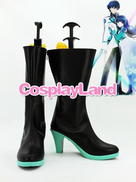 Customize Boots Mahouka Koukou no Rettousei Shiba Miyuki Cosplay Boots  Cosplay Costume Anime Party Shoes
