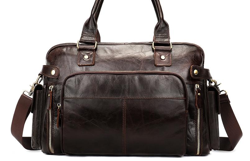 Multi-Function Men Genuine Leather Travel Bag Crossbody Shoulder Luggage Bag Hombre Cowhide Business Messenger Handbag D420Multi-Function Men Genuine Leather Travel Bag Crossbody Shoulder Luggage Bag Hombre Cowhide Business Messenger Handbag D420