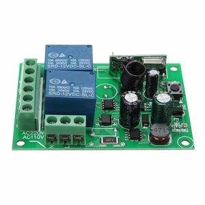 Image 4 - LEORY Control remoto por radiofrecuencia, interruptor de 2 canales cc 12V 220/315 MHz, Relé inalámbrico, 433 V, venta al por mayor